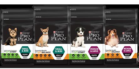 Purina Pro Plan Products Range