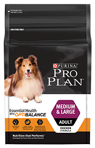 Dog food for medium and large puppies