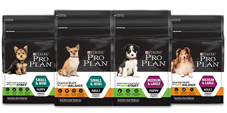 Purina Pro Plan Products Range